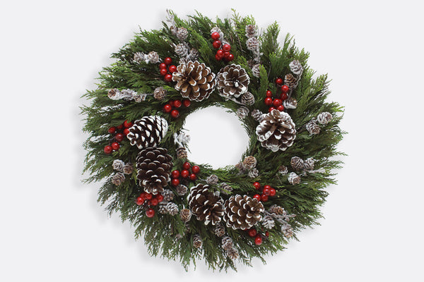 Merry Merry! Holiday Wreath