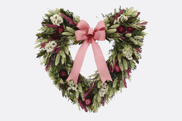 Mon Cheri Heart Shaped Wreath