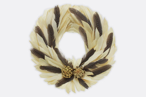 Feathery Wonder Wreath