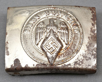 Hitler Youth Plated Steel Buckle