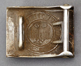 Army Other Ranks Aluminum Buckle