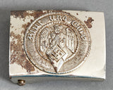 "Nicely Marked Hitler Youth ""Other Ranks"" Buckle"