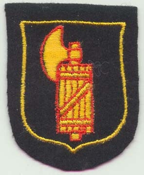 Italian SS Volunteer Sleeve Shield