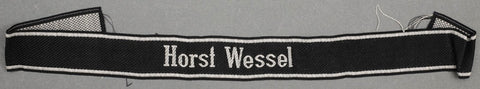 WWII German Machine Woven (BeVo) Waffen-SS Enlisted Man's Cufftitle