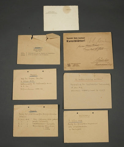 Document Grouping, Including Letterhead from the Desk of