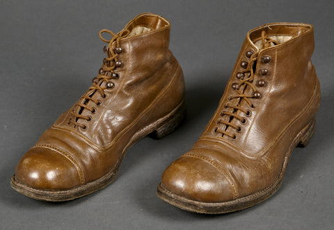 WWII Japanese (?) Low Quarter Boots