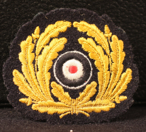 WWII German Kriegsmarine Visor Cap Wreath and Cockade