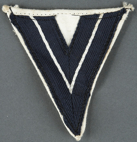 WWII German Sleeve Chevron For Kriegsmarine Private Summer Tunic