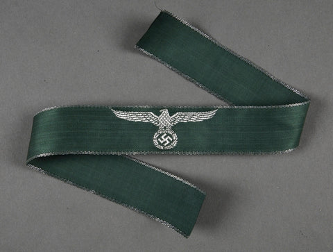 WWII German Cufftitle For Custom's Official