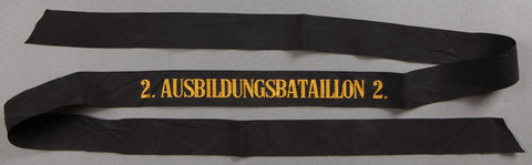 """Ausbildungsbatallion 2"" (Training Battalion) Cap Tally"