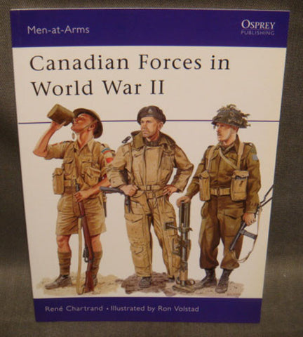 Men-At-Arms Series 359 Canadian Forces in World War II