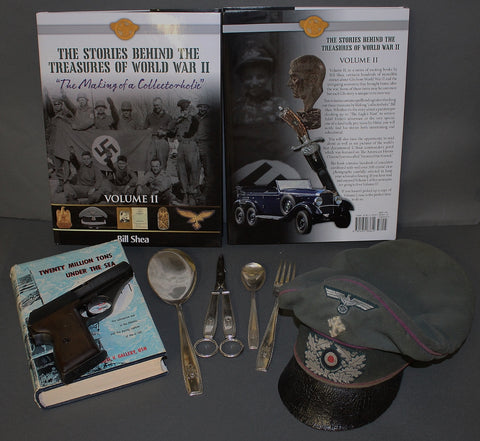 "THE STORIES BEHIND THE TREASURES OF WORLD WAR II ""The Making of a Collectorholic"" Vol. II...INTERNATIONAL BUYERS"