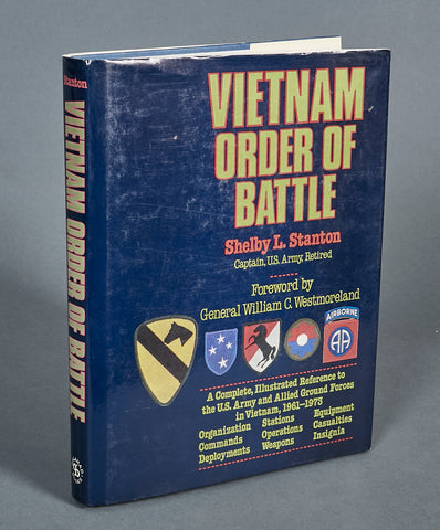 Vietnam Order of Battle by Cpt. Shelby L. Stanton (Ret)