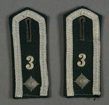 Set of Early Army Shoulder Boards