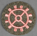 Army Trade and Proficiency Badge for Motor or Armored Mec