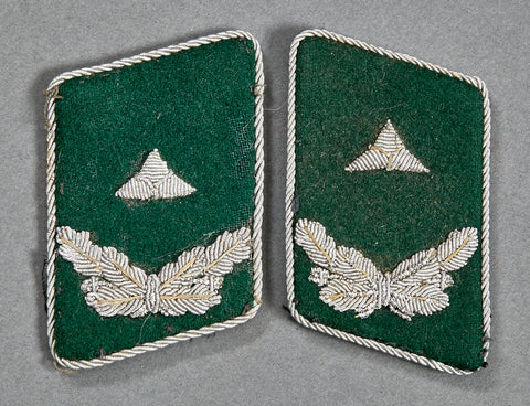 NAZI WWII Forestry Official's Collar Tabs