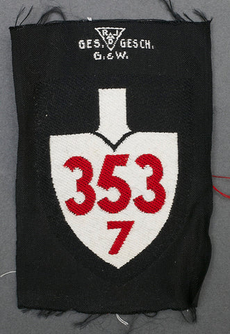 RAD Enlisted Ranks Sleeve Shield