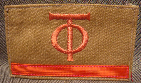 WWII German Arm Badge for Organization Todt