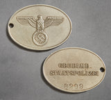 A Unique Counterintelligence Grouping Including Gestapo Related Artifact