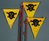 WWII Mine Warning Flag