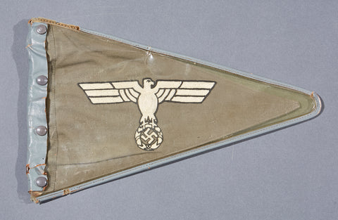 WWII German Army Fender Pennant
