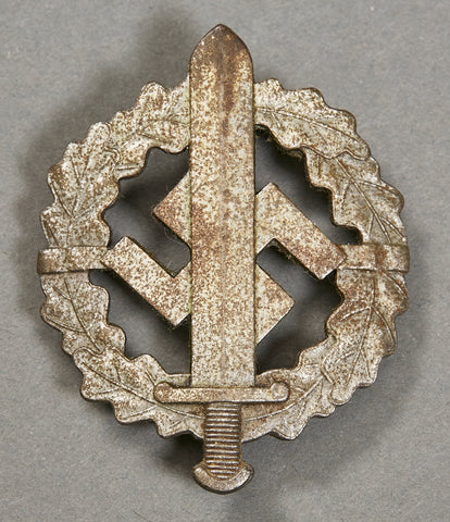 Third Reich SA Sports Badge in Silver
