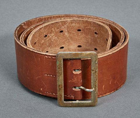 WWII German Political Leader's Double Open Claw Belt and Buckle