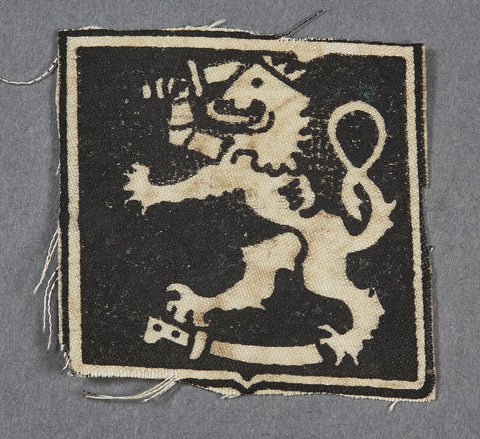 German WWII Waffen SS Volunteer Sleeve Insignia for the Finnish SS