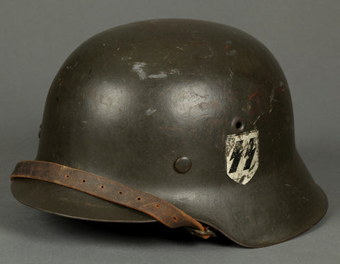 "WWII German Model 1942 SS Double ""Reverse"" Decal Helmet"