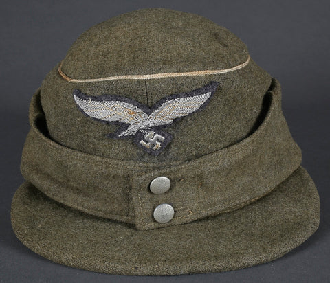 Scarce, WWII German Luftwaffe Officer Model 1943 Field Cap for Assaul