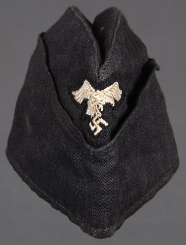 "German Luftwaffe ""Other Ranks"" Overseas Cap for Panzer or Mech."