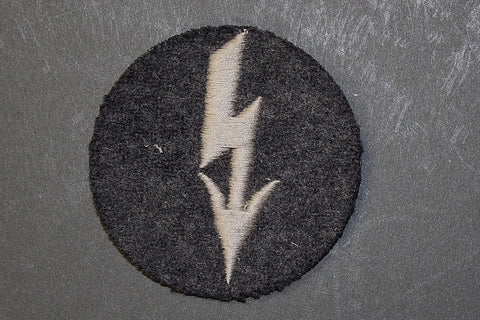 WWII German Career/Rating Patch for Signals Personnel