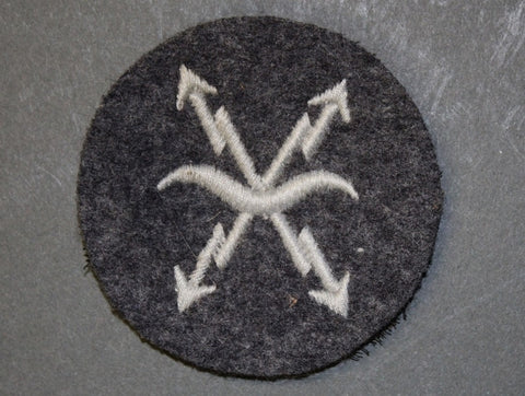 WWII German Career/Rating Patch for Air Raid Personnel
