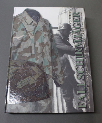 NEW!! Fallschirmjäger Volume 1, Specialist Clothing and Equipment of the German Paratrooper in WWII