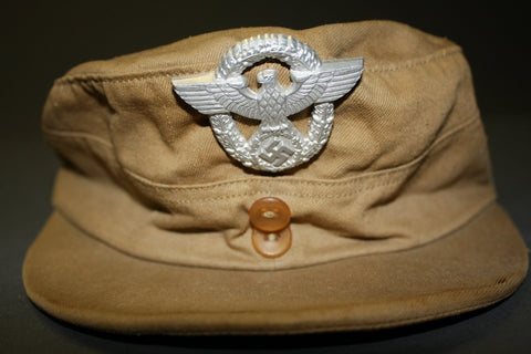 Interesting, WWII German Tropical Use Police Field Cap