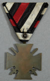 Cross of Honor 1914 - 1918 With Swords on Parade Mount