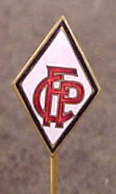 "Enameled Stick Pin for ""French Communist Party"""