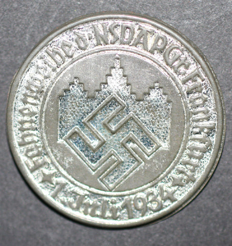 WWII German NSDAP Group Frankfurt Tinnie