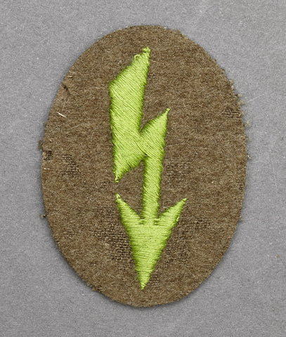 WWII German Army Tropical Signals Blitz