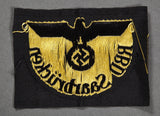 WWII German Reichsbahn Sleeve Eagle