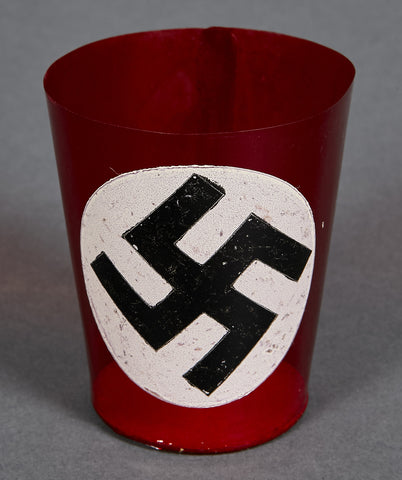 Nazi Candle Holders/Cups