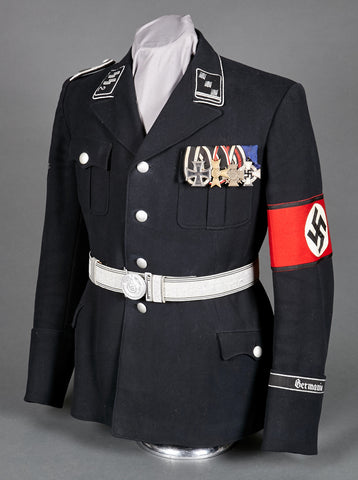 "SS-Standarte ""Germania"" Officer Walking Out Dress Uniform"