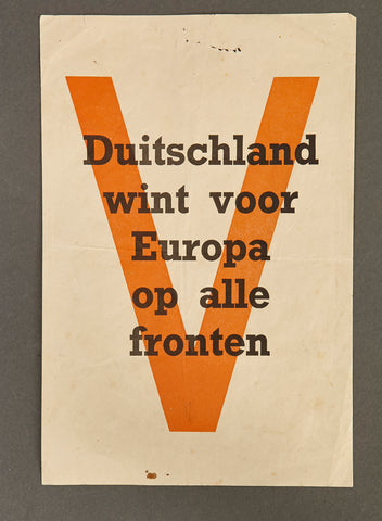 WWII Dutch German Alliance Flyer