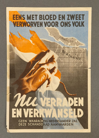 WWII Dutch Propaganda Flyer