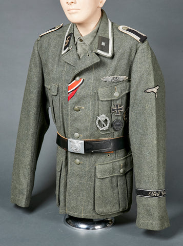 Incredible WWII German Waffen SS NCO Model 1940 Tunic