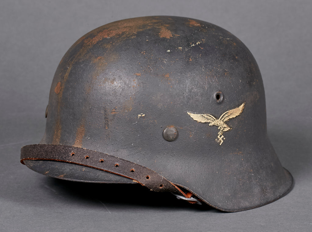 Bill Of Sale Example >> WWII German Luftwaffe Model 1942 Single Decal Helmet – The ...