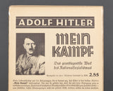 Large Advertisement for Adolf Hitler's Meine Kampf Book