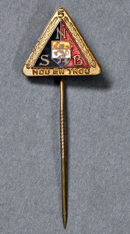 NSB (Dutch National Socialist Organization) Member Stick Pin