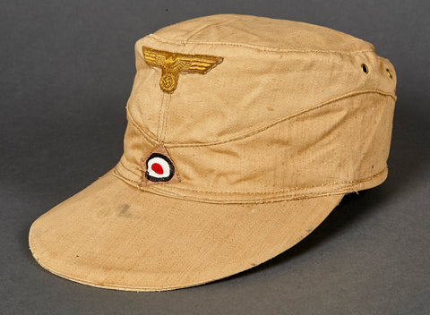 WWII German Kriegsmarine Tropical Model 1941 Field Cap