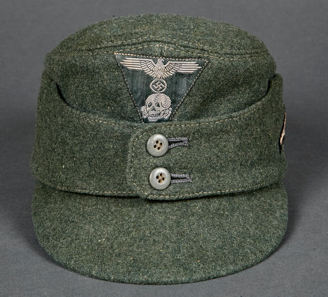 Rare NAZI  Waffen SS Mountain Trooper Model 1943 Field Cap